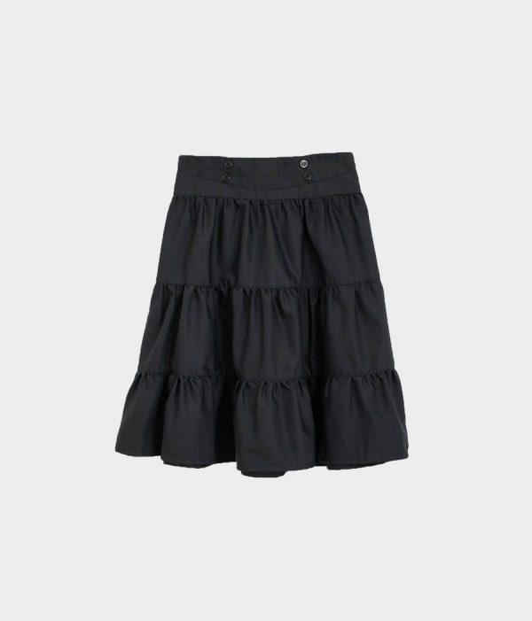 חצאית קומות טאצ כחול