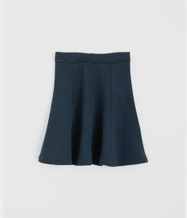 חצאית פיקה כחול