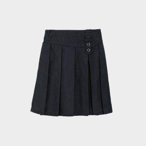 חצאית כפתורים טאצ כחול