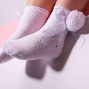 גרביים קצרות פונפון